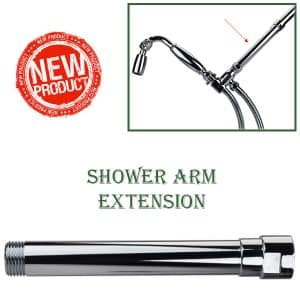 Non-Adjustable Shower Arm Extensions